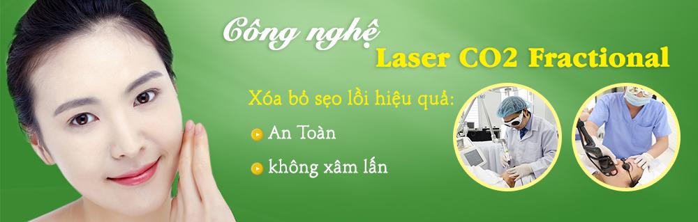 Công nghệ trị sẹo Laser Co2