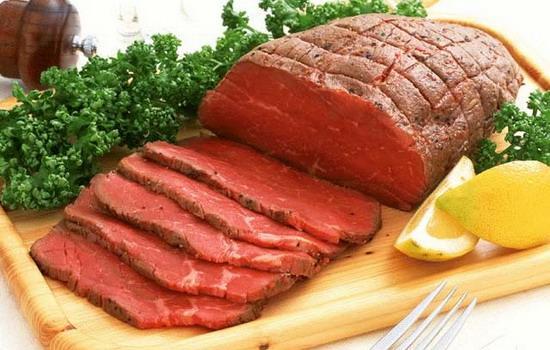 Lên da non có nên kiêng ăn thịt bò không