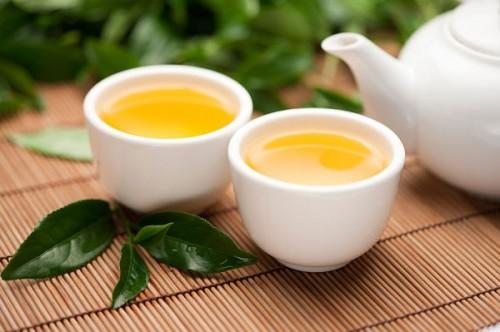 Trà xanh được sử dụng trong việc chữa lành các vết thương, kháng viêm