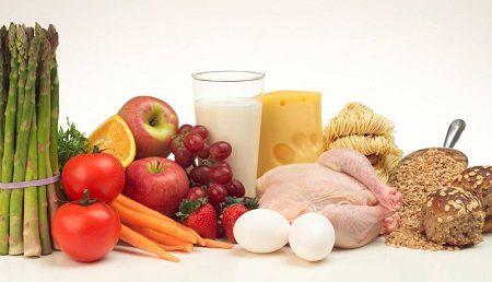 Các thực phẩm giàu đạm và vitamin cần được cung cấp đầy đủ