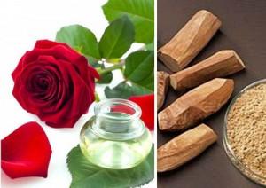 """""""Độc đáo"""" với công thức trị sẹo mụn bằng gỗ đàn hương và nước ép hoa hồng"""