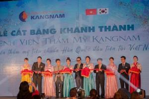 Sức nóng khai trương BV thẩm mỹ Kangnam: Lan tỏa khắp 2 miền Nam – Bắc