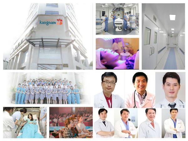 Cơ sở vật chất hiện đại tại Kangnam- địa chỉ trị sẹo lõm uy tín nhất