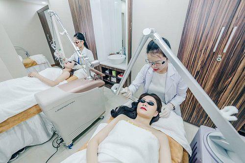 Công nghệ trị sẹo hiện đại kết hợp quy trình an toàn